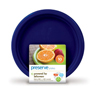 Preserve On the Go Small Reusable Plates - Midnight Blue - 10 Pack - 7 in HGR 1210137