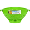 Clean and Green: Preserve - Large Colander - Green - 3.5 qt
