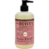 soaps and hand sanitizers: Mrs. Meyer's - Liquid Hand Soap - Rosemary - 12.5 oz