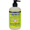 soaps and hand sanitizers: Mrs. Meyer's - Liquid Hand Soap - Lemon Verbena - 12.5 oz