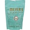 dishwashing detergent and dishwasher detergent: Mrs. Meyer's - Auto Dishwash Packs - Basil - 12.7 oz