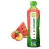 Alo Original Comfort Aloe Vera Juice Drink - Watermelon and Peach - Case of 12 - 16.9 fl oz.. HGR 1213214