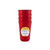 Drinkware: Preserve - Everyday Cups - Pepper Red - 4 Packs
