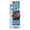 Chocolate Chunk Brownie Cookies - Case of 6 - 5.4 oz..