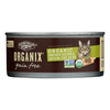Castor and Pollux Organic Cat Food - Chicken and Liver - Case of 24 - 5.5 oz.. HGR 1229152
