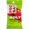 Probar Bolt Energy Chews - Organic Strawberry - 2.1 oz - Case of 12 HGR 1232164