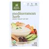 Simply Organic Mediterranean Herb Greek Yogurt Dip Mix - Case of 12 - 1 oz.. HGR 1234640