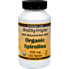 Herbal Homeopathy Herbal Formulas Blends: Healthy Origins - Organic Spirulina - 500 mg - 720 Ct