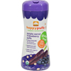 snacks: Happy Baby - Happy Bites Puffs - Organic HappyPuffs Purple Carrot and Blueberry - 2.1 oz - Case of 6