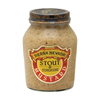 Specialty Food Mustard - Stout and Stoneground - Case of 6 - 8 oz..