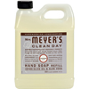 soaps and hand sanitizers: Mrs. Meyer's - Liquid Hand Soap Refill - Lavender - 33 lf oz