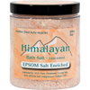 Himalayan Salt Bath Salt - 40% Epsom Salt Enriched - 24 oz HGR 1248228