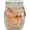 Himalayan Salt Sole Salt Chunks in Jar - 16 oz HGR 1248269