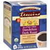 Clean and Green: Teeccino - Organic Herbal Coffee - Dandelion Dark Roast - 10 Bags - Case of 6