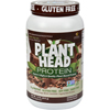 Nutritionals: Genceutic Naturals - Plant Head Protein - Chocolate - 1.7 lb