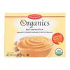 European Gourmet Bakery Organic Butterscotch Pudding Mix - Butterscotch - Case of 12 - 3.5 oz.. HGR 1256742