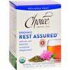 Choice Organic Teas Teas - Organic Rest Assured Tea - 16 Bags - Case of 6 HGR 1256809