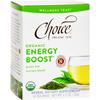Choice Organic Teas Teas - Organic Energy Boost Tea - 16 Bags - Case of 6 HGR 1257021