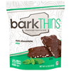 Bark Thins Dark Chocolate Mint Snacking Chocolates- Case of 12 - 4.7 oz. HGR 1264167