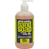 soaps and hand sanitizers: EO Products - Everyone Hand Soap - Lime and Coconut with Strawberry - 12.75 oz