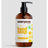 soaps and hand sanitizers: EO Products - Everyone Hand Soap - Meyer Lemon and Mandarin - 12.75 oz