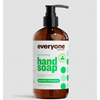 soaps and hand sanitizers: EO Products - Everyone Hand Soap - Spearmint and Lemongrass - 12.75 oz