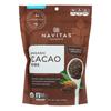 Cacao Nibs - Organic - Raw - 16 oz.. - case of 6