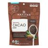 Cacao Nibs - Organic - Raw - 8 oz.. - case of 12