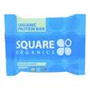Squarebar Organic Protein Bar - Cocoa Coconut - 1.7 oz.. - Case of 12 HGR 1273465