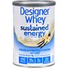 Designer Whey Protein Powder - Sustained Energy Vanilla Bean - 12 oz HGR 1274539