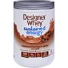 Designer Whey Protein Powder - Sustained Energy - Chocolate Velvet - 1.5 lb HGR 1274547