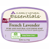 soaps and hand sanitizers: Clearly Natural - Glycerin Bar Soap - French Lavender - 4 oz