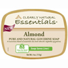 soaps and hand sanitizers: Clearly Natural - Glycerin Bar Soap - Almond - 4 oz