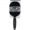 Earth Therapeutics Hair Brush - Paddle - Silicon - Black - 1 Count HGR 1280403
