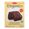 European Gourmet Bakery Organic Frosted Brownie Mix - Frosted - Case of 8 - 16.5 oz.. HGR 1281070