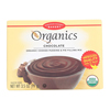 European Gourmet Bakery Organic Chocolate Pudding Mix - Pudding Mix - Case of 12 - 3.5 oz.. HGR 1281138
