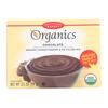 European Gourmet Bakery Organic Chocolate Pudding Mix - Pudding Mix - Case of 12 - 3.5 oz.. HGR 1281138