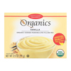 European Gourmet Bakery Organic Vanilla Pudding Mix - Vanilla - Case of 12 - 3.5 oz.. HGR 1281153
