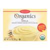 European Gourmet Bakery Organic Vanilla Pudding Mix - Vanilla - Case of 12 - 3.5 oz.. HGR 1281153