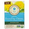 Traditional Medicinals Tea - Organc - EvryDy Detox - Dndln - 16 ct - 1 Case HGR 1281708