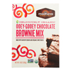 Madhava Honey Organic Ooey - Gooey Chocolate Brownie Mix with Ancient Grains - Case of 6 - 17.5 oz.. HGR 1281971