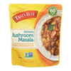 Tasty Bite Entree - Indian Cuisine - Mushroom Masala - 10 oz.. - case of 6 HGR 1284652