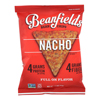 Bean and Rice Chips - Nacho - Case of 24 - 1.5 oz..