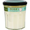 Clean and Green: Mrs. Meyer's - Soy Candle - Basil - 7.2 oz - Case of 6