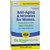 King Bio Homeopathic Anti Aging and Wrinkles - Women - 2 oz HGR 1372812