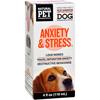 King Bio Homeopathic Natural Pet Dog - Anxiety and Stress - 4 oz HGR 1383728