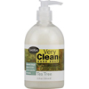 soaps and hand sanitizers: Shikai Products - Hand Soap - Very Clean Tea Tree - 12 oz