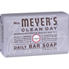 soaps and hand sanitizers: Mrs. Meyer's - Bar Soap - Lavender - 5.3 oz - Case of 12
