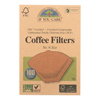 If You Care Coffee Filters - #6 Cone Unbleached - Case of 12 - 100 Count HGR 1434455