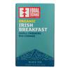 Equal Exchange Organic Irish Breakfast Tea - Irish Breakfast - Case of 6 - 20 Bags HGR 1507979